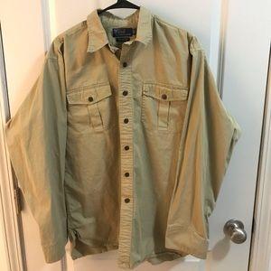 Men's Khaki Polo Ralph Lauren Shirt